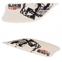 ailerons 4.2cm pour planches kitesurf freeride accessoires  BLANKFORCE