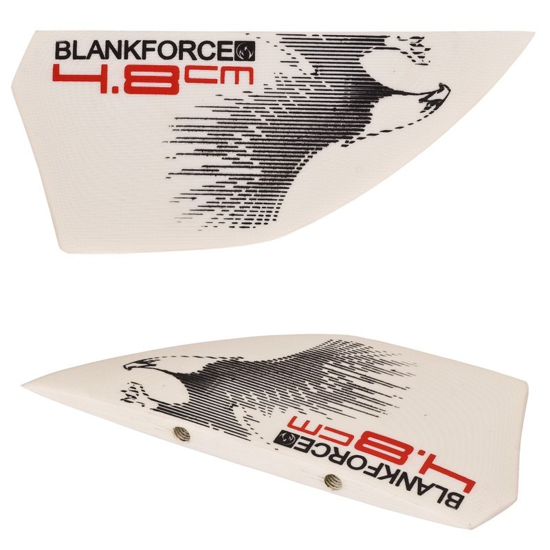 ailerons 4.8cm pour planches kitesurf freeride accessoires  BLANKFORCE